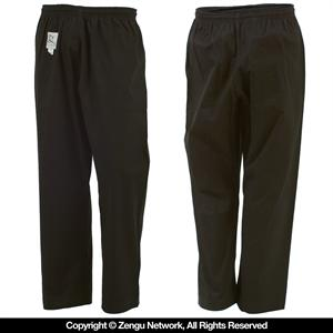Heavyweight Black Karate Pants